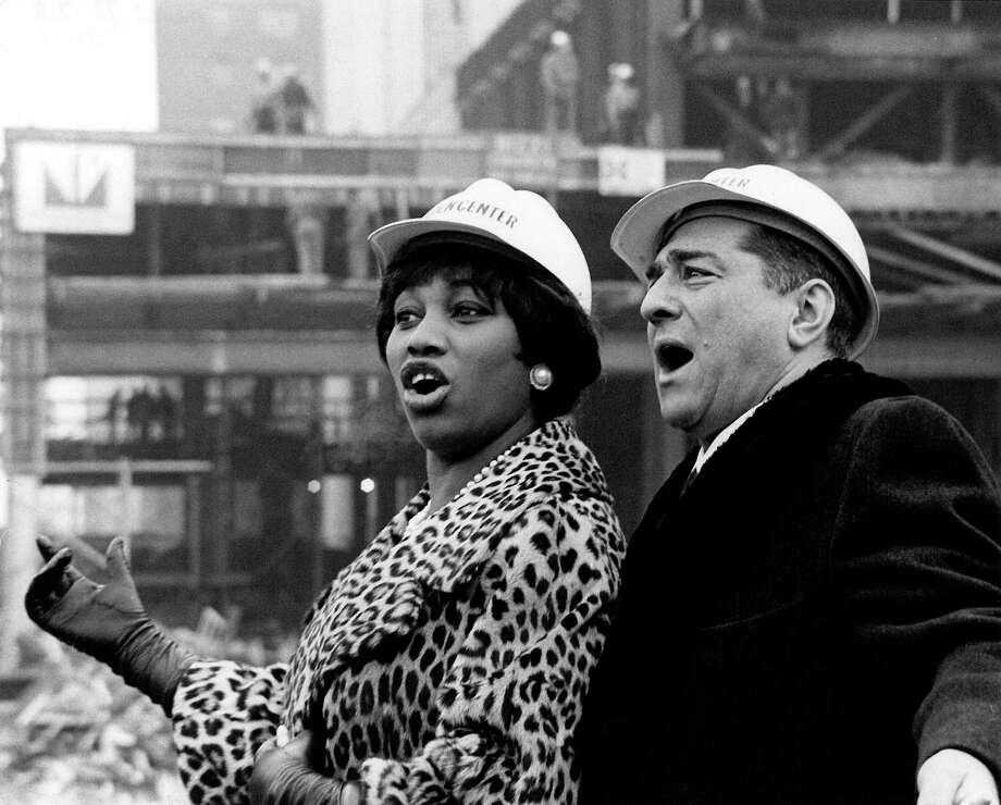 "The Warner Theater presents ""The Operahouse,"" a new film by multiple Emmy Award winning documentary filmmaker Susan Froemke that surveys a remarkable period of the Metropolitan Operas rich history and a time of great change for New York. Above, Leontyne Price and Robert Merrill in 1964. Photo: Contributed Photo / Bob Serating"