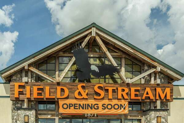 October 13 2016:  Field & Stream will be opening soon at the Dick's Sporting Goods store in Katy, Texas.  (Leslie Plaza Johnson/Chronicle)