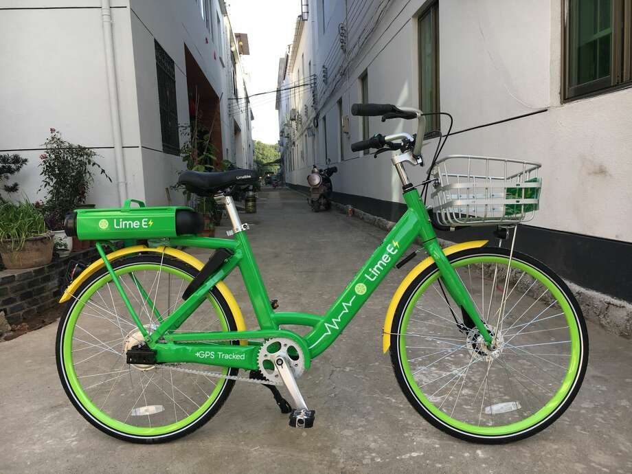LimeBike is deploying electric bicycles in Mercer Island for the next three months. Photo: LimeBike