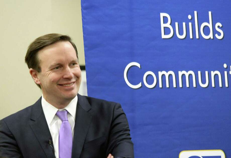 U.S. Sen. Chris Murphy discussed the impacts of the new federal tax bill with a group of real estate professionals Friday. Fairfield,CT. 1/5/18 Photo: Genevieve Reilly / Hearst Connecticut Media / Fairfield Citizen
