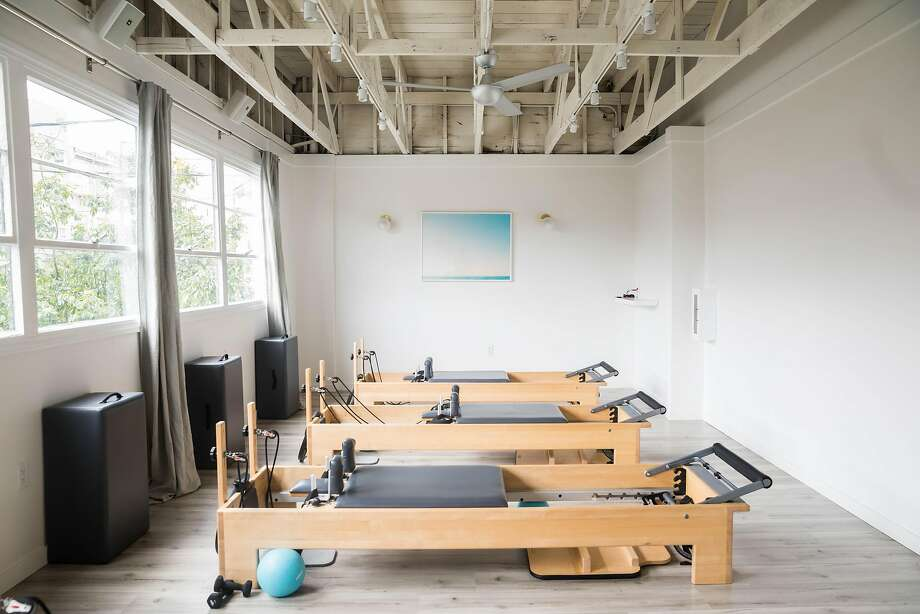 Fitness entrepreneur Elaine Hayes' MNT studio on Brannan Street in SoMa offers Pilates, barre and yoga classes in 6,000 square feet on two levels. Seen here: a private studio. Photo: Ashley Batz, Courtesy MNTSTUDIO