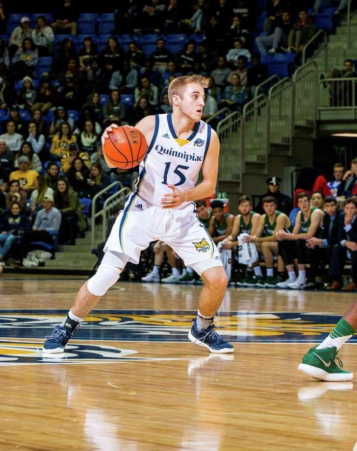 Quinnipiac freshman Rich Kelly of Shelton starred at Fairfield Prep. Photo: Quinnipiac Athletics / ©Copyright John Hassett Photography