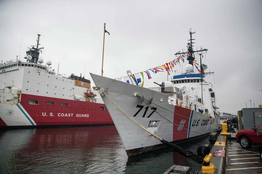 The USCGC Mellon at U.S. Coast Guard Base Seattle on Tuesday, Jan. 9, 2018. Photo: GRANT HINDSLEY, SEATTLEPI.COM / SEATTLEPI.COM