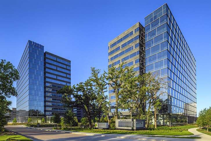 Skanska says its West Memorial Placecampus was among the first office properties in the Energy Corridor to recover after Hurricane Harvey.