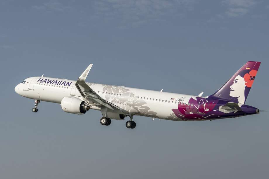 Hawaiian Airlines brand new Airbus A321neo now flies between Oakland and Maui and soon many other west coast routes-- but later than expected, which could wreak havoc with summer vacation plans Photo: AIRBUS / C.Brinkmann