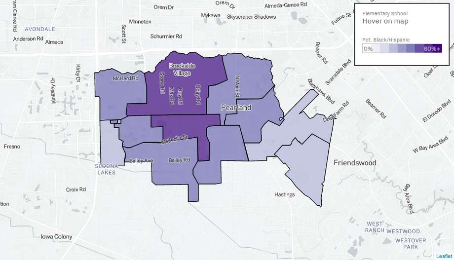 Gallery: Heat map shows how Houston\'s school districts continue to ...