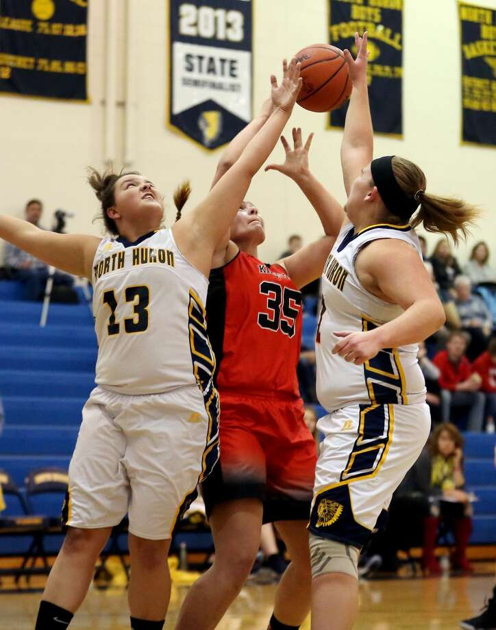 Kingston at North Huron — Girls Basketball 2018 Photo: Paul P. Adams/Huron Daily Tribune