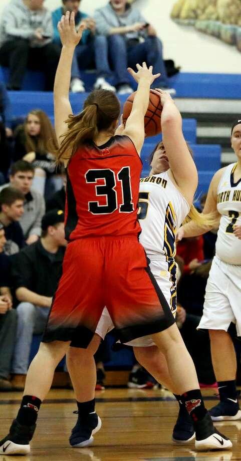 Kingston at North Huron — Girls Basketball 2018 Photo: Paul P. Adams/Huron Daily Tribune
