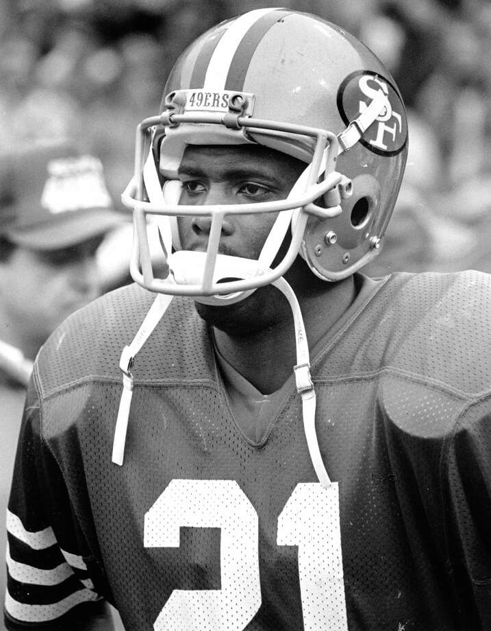 San Francisco 49ers cornerback Eric Wright (21) during the 49ers 23-0 victory over the Chicago Bears in the 1984 NFC Championship Game on January 6, 1985 at Candlestick Park in San Francisco, California. (Photo by Arthur Anderson/Getty Images) Photo: Arthur Anderson / NFL / Arthur Anderson/WireImage.com