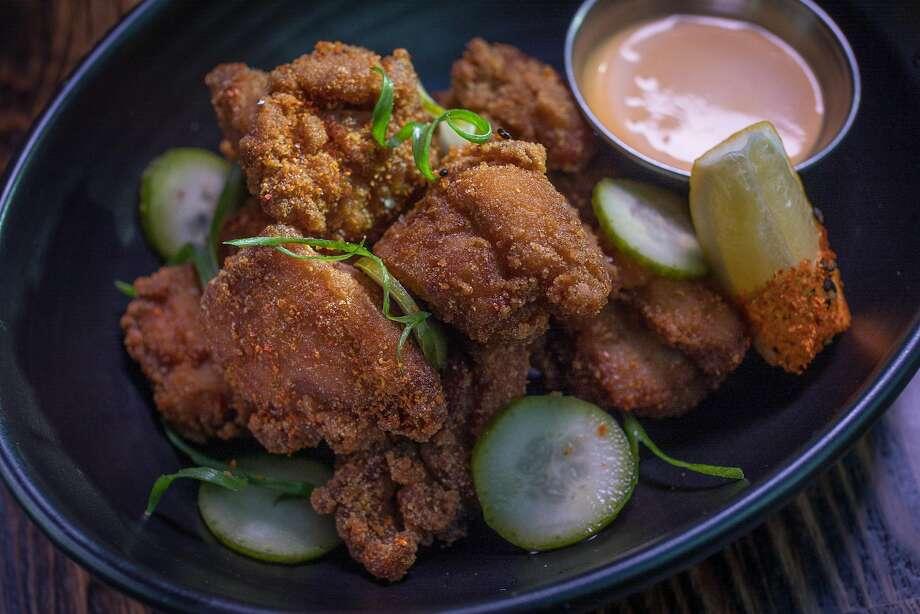 Chicken karaage at International Smoke. Photo: John Storey, Special To The Chronicle
