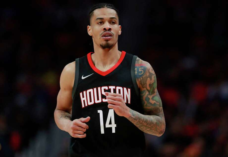 Houston Rockets guard Gerald Green runs up court during the second half of an NBA basketball game against the Detroit Pistons, Saturday, Jan. 6, 2018, in Detroit. (AP Photo/Carlos Osorio) Photo: Carlos Osorio, STF / Copyright 2018 The Associated Press. All rights reserved.