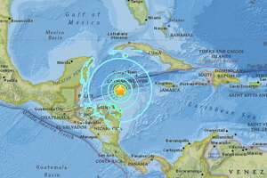 The United States Geological Survey reported a preliminary magnitude 7.6 earthquake struck near Great Swan Island, Honduras on Tuesday.