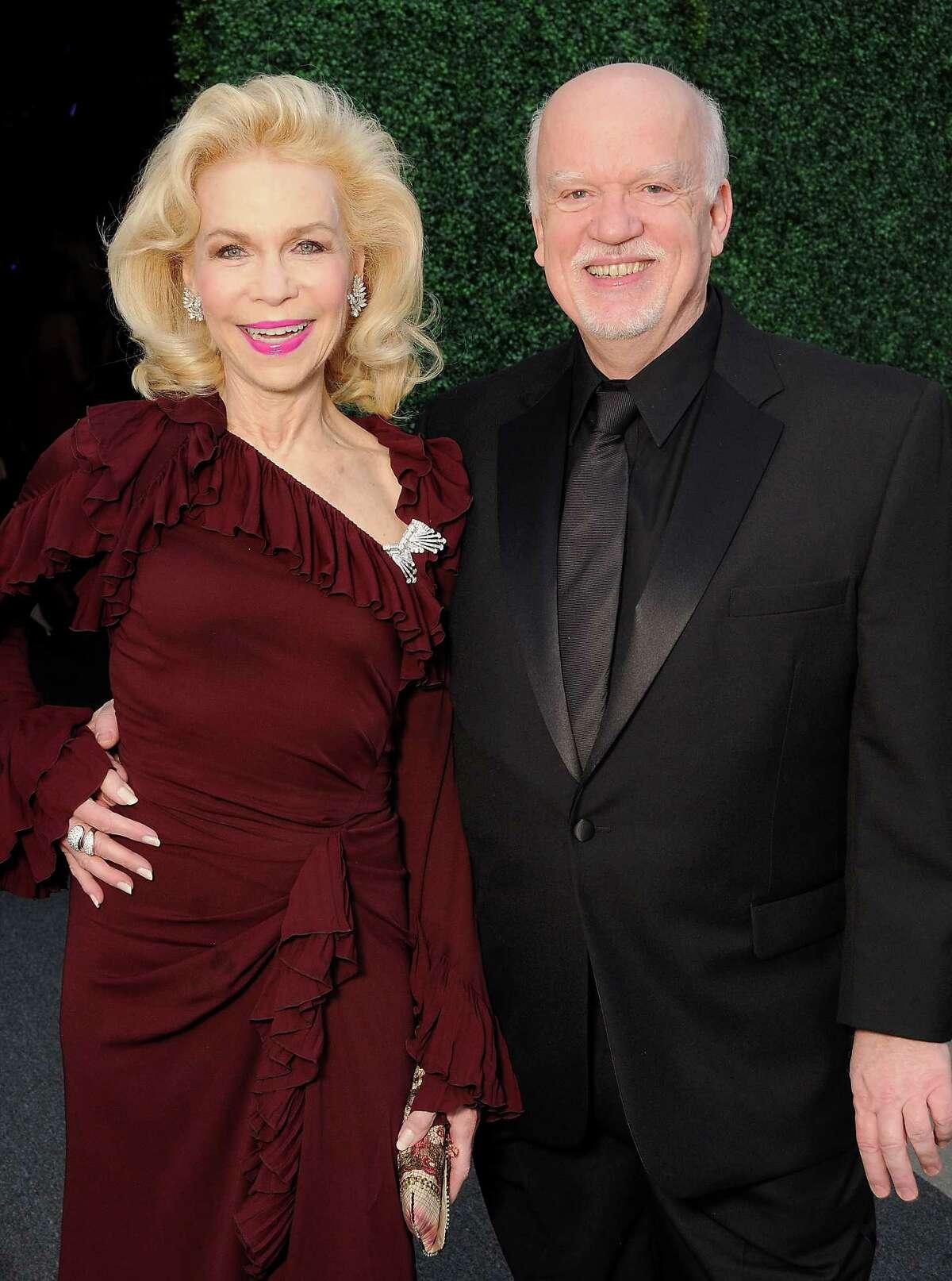 Lynn Wyatt and Gregory Boyd at the 2014 Alley Theatre Ball