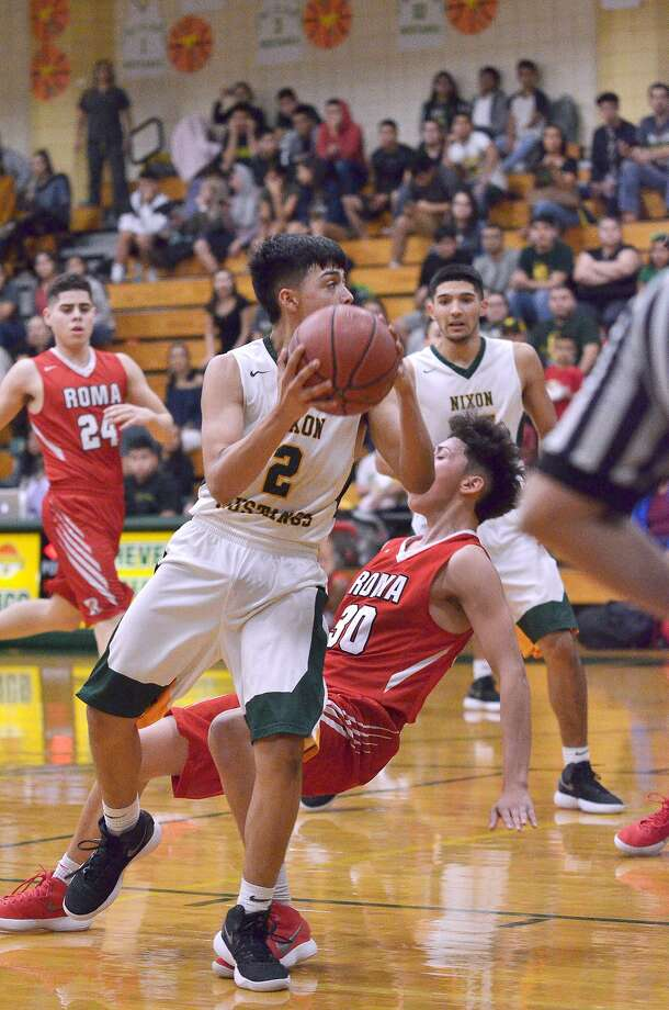 L.J. Herrera and Nixon (22-5) remain the team to beat in District 31-5A at 8-0. The Mustangs are currently riding a 10-game winning streak. Photo: Cuate Santos /Laredo Morning Times / Laredo Morning Times