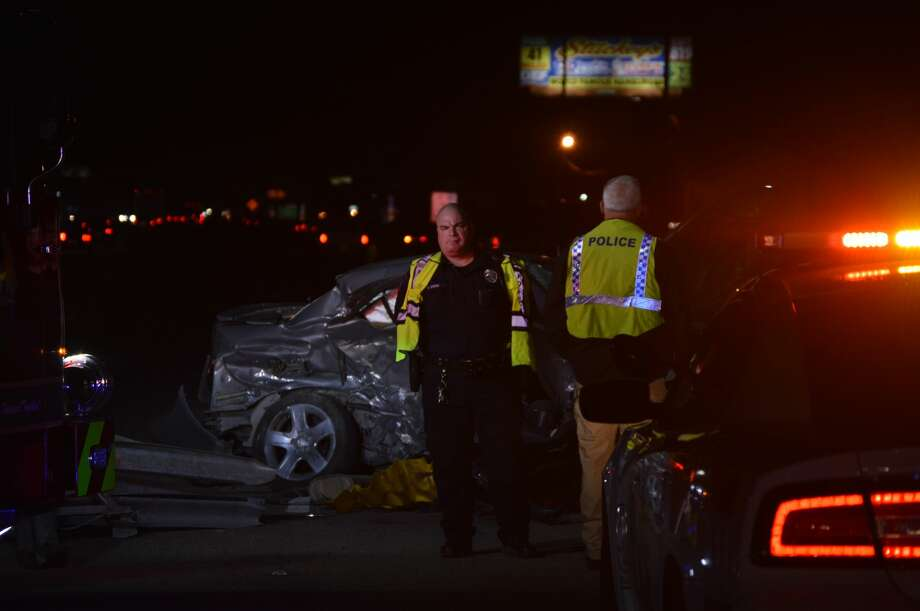 A Nederland man has died and a Beaumont woman was injured following an early morning wreck in Orange County Wednesday, January 10, 2018. Photos provided by Eric Williams. Photo: Eric Williams