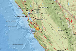 A magnitude 2.6 earthquake hit at 5:52 am three miles  southwest of Gilroy.