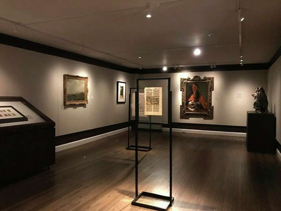 A view of the Treasures of Travel: A Provenance of Late Renaissance and Early Baroque Artwork from the Permanent Collection' exhibit at the Saginaw Art Museum. (photo provided)