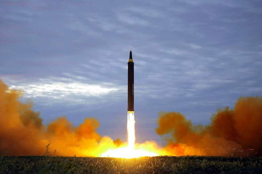 A Japanese broadcaster sent out an alert that a North Korea had fired out a missile. Five minutes later they sent a correction. Photo: Associated Press