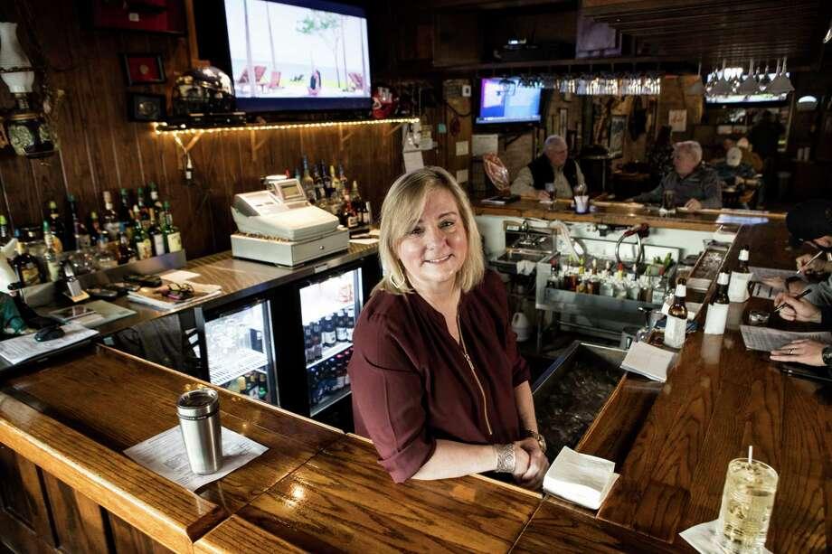 Margie Beard, bartender at Luling City Market BBQ, poses for a portrait on Friday, Jan. 5, 2018, in Houston. ( Brett Coomer / Houston Chronicle ) Photo: Brett Coomer, Staff / © 2018 Houston Chronicle