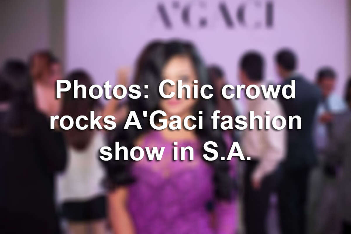 A polished crowd turned out for the A'GACI Spring/Summer runway show in the middle of Fashion Week San Antonio on Wednesday, Nov. 4, 2015. Here are the best photos from that night.