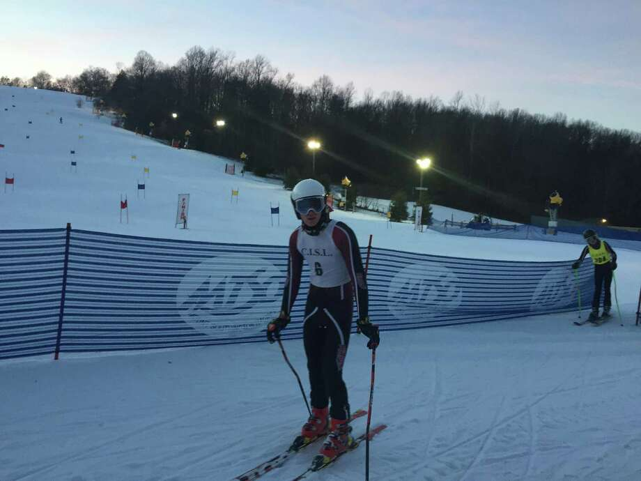 St. Luke's ski team captain, senior Andrew Kurth. Photo: Contributed Photo / New Canaan News contributed