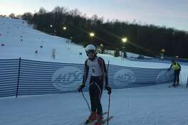 St. Luke's ski team captain, senior Andrew Kurth.
