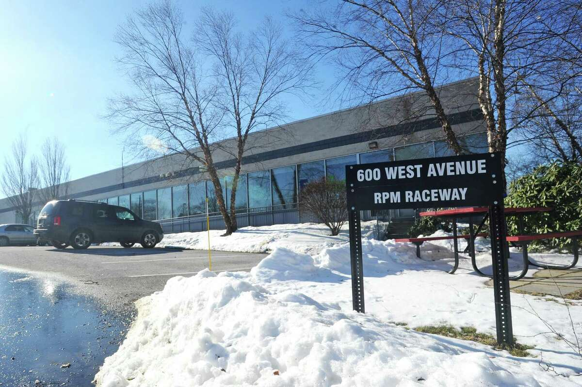 RPM Raceway plans to open in the first half of 2018 a go-karting complex in this building at 600 West Ave., in Stamford, that formerly housed a FedEx delivery center.