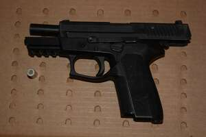 A handgun was found at Seventh and Chester streets following a BART officer-involved shooting last week.