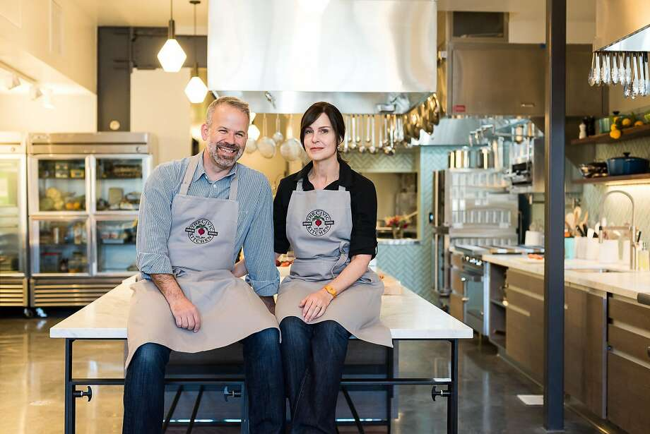 Civic Kitchen founders Chris Bonomo and Jen Nurse. Photo: Sarah Fritsche, Photocredit: Kassie Borreson