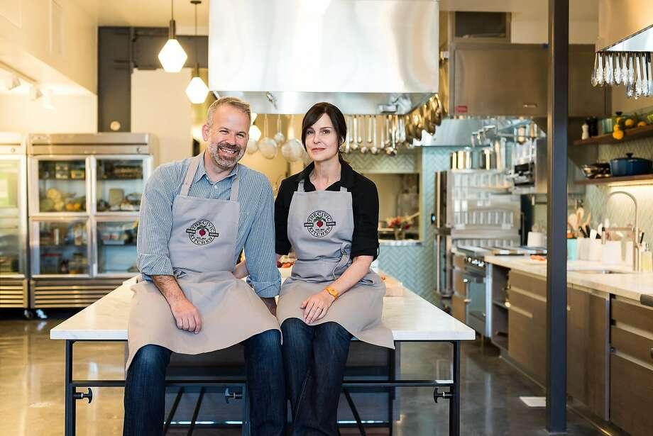Civic Kitchen founders Chris Bonomo and Jen Nurse. Photo: Sarah Fritsche, Photocredit: Kassie Borreson