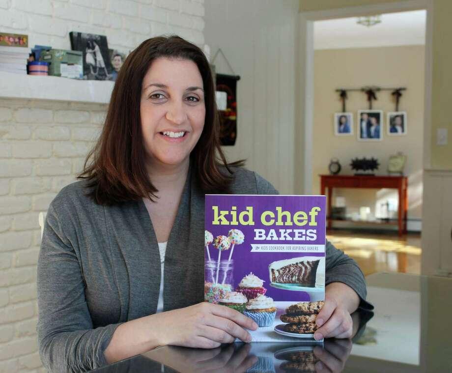 Award-winning Wilton home chef Lisa Huff. Photo: Stephanie Kim / Hearst Connecticut Media