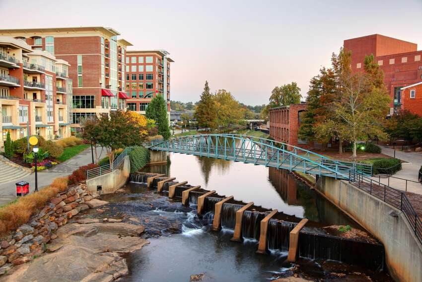 8. Greenville, South Carolina Attractions:Falls Park on the Reedy, The Children's Museum of the Upstate, Fluor Field at the WestEnd Source:Trip Advisor