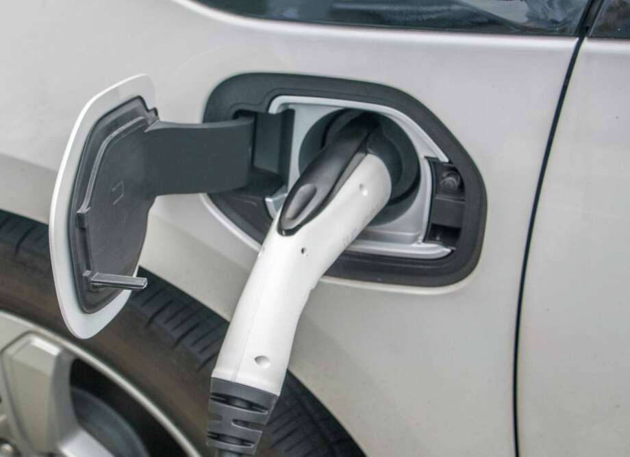 The EV Charger allows users to monitor, track, and schedule the charging of their electric cars from anywhere using a mobile app. Photo: Contributed Photo / Contributed Photo / Connecticut Post Contributed