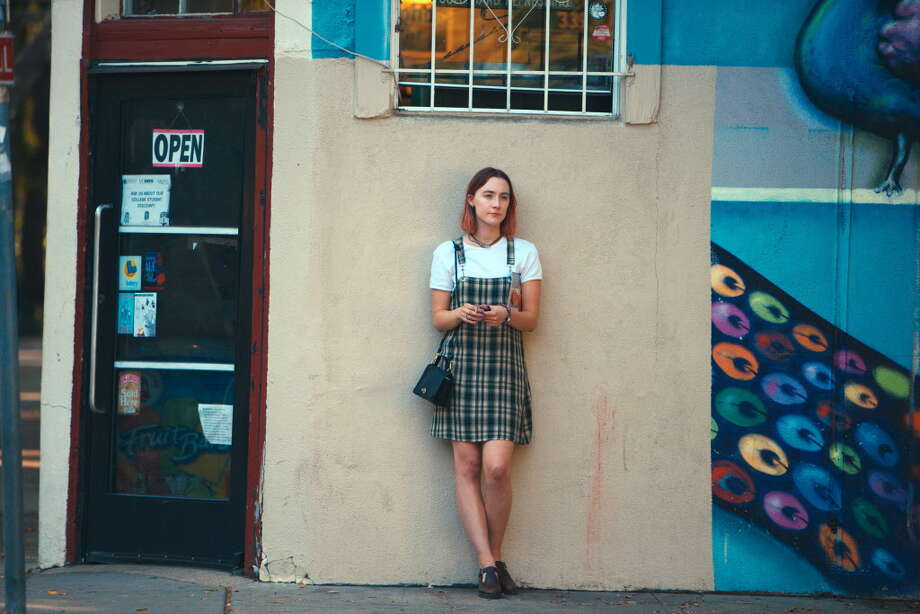 "This image released by A24 Films shows Saoirse Ronan in a scene from ""Lady Bird."" The Houston Film Critics chose ""Lady Bird"" as the best film of 2017. Photo: Merie Wallace, HONS / A24"