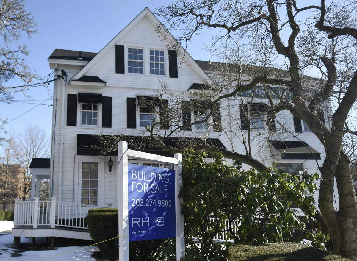 The former Outdoor Traders property at 55 Arch St. recently sold in Greenwich, Conn. Wednesday, Jan. 10, 2018.
