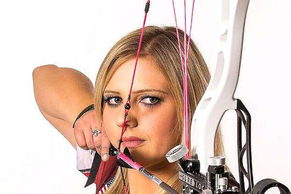 """Paige Pearce-Gore is a world-renown competitive archer who doubles as a youth outdoors instructor who has networks with the Congressional Sportsmen�s Foundation, who as 22, was selected as California's """"New Mover, Shaker"""" by the California Outdoors Hall of Fame and will be inducted at the Sportsmen's Expo on Jan. 20"""