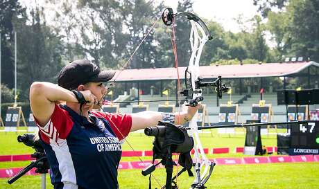 "Paige Pearce-Gore is a world-renown competitive archer who doubles as a youth outdoors instructor who has networks with the Congressional Sportsmen's Foundation, who as 22, was selected as California's ""New Mover, Shaker"" by the California Outdoors Hall of Fame and will be inducted at the Sportsmen's Expo on Jan. 20"