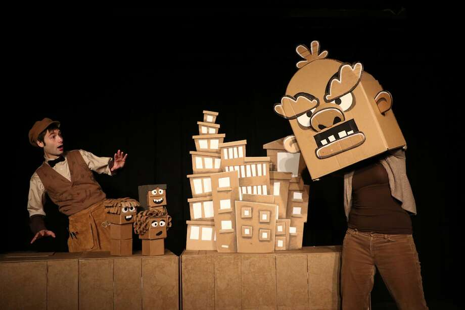 "Puppeteer Brad Shur brings his ""Cardboard Explosion!"" show to the Palace Theatre in Stamford on Jan. 14. Photo: Palace Theatre / Contributed Photo / Connecticut Post contributed"