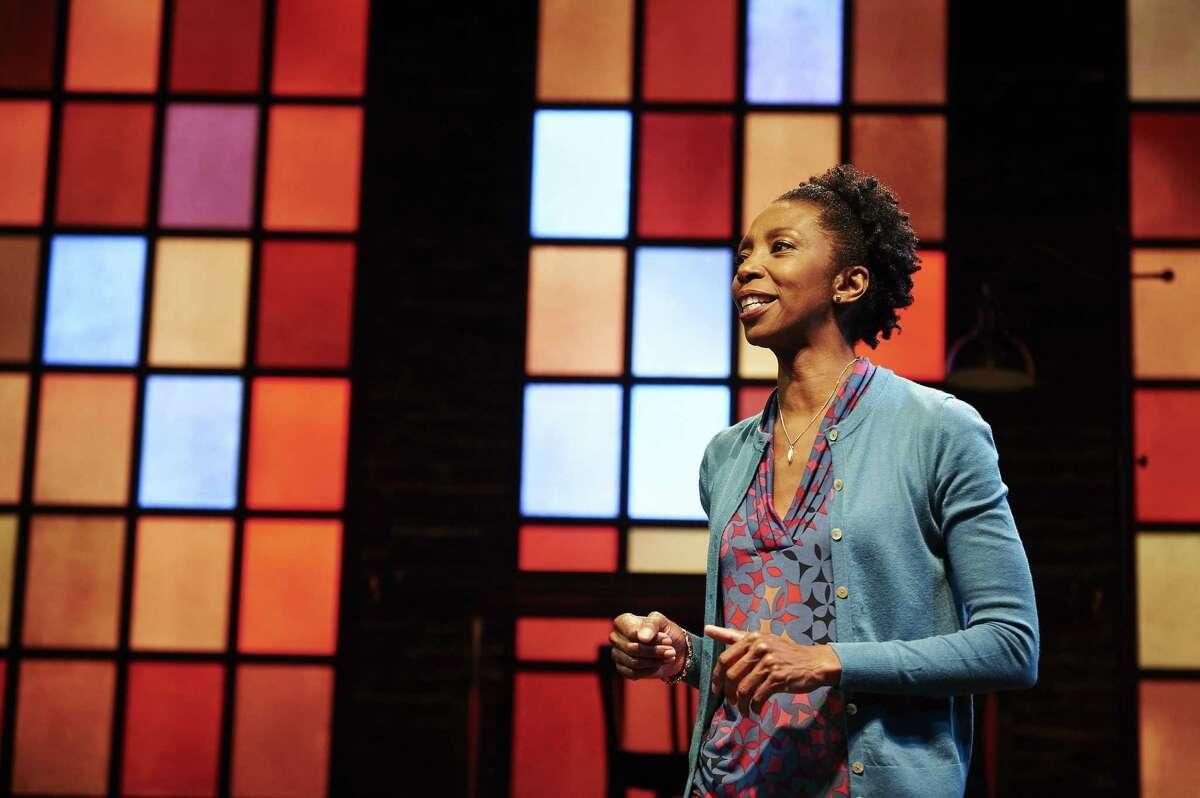 Sharon Washington performs her one-woman show,