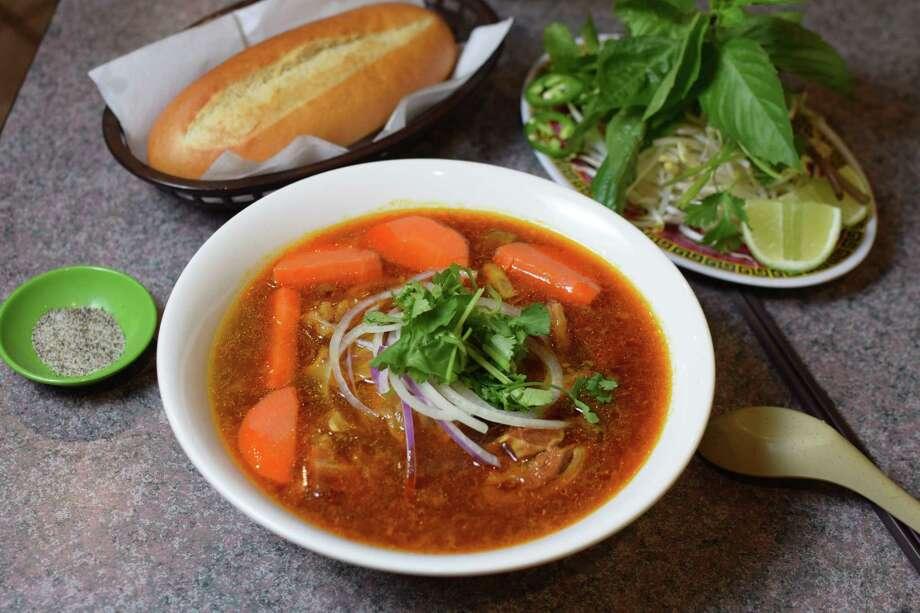 Mi Bo Kho at Pho Saigon Midtown Photo: Mai Pham