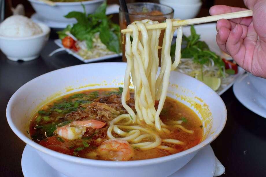 Banh Canh at Mai's Restaurant Photo: Mai Pham