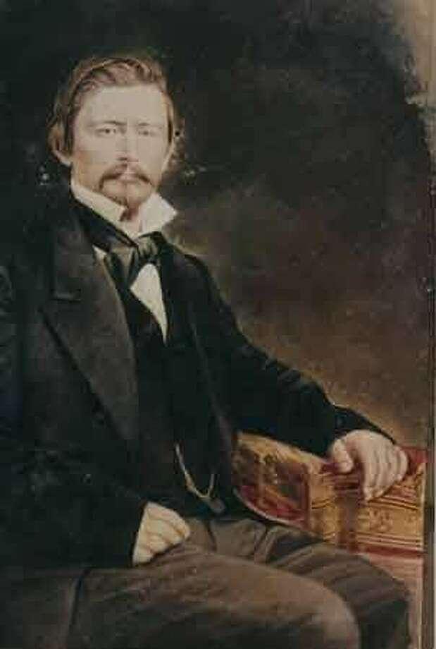 A portrait of Granville P. Swift, California pioneer. Photo: Public Domain
