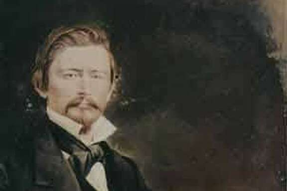 A portrait of Granville P. Swift, California pioneer.