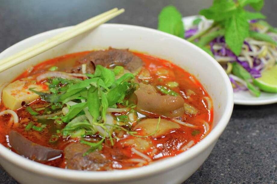 Bun Bo Hue at Pho Tan Loc Photo: Mai Pham
