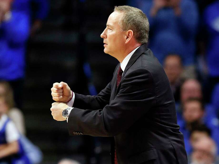 Texas A&M coach Billy Kennedy and his team will have to reverse a rough start in SEC play to fortify their NCAA Tournament chances this year. Photo: James Crisp, Associated Press / FR6426 AP