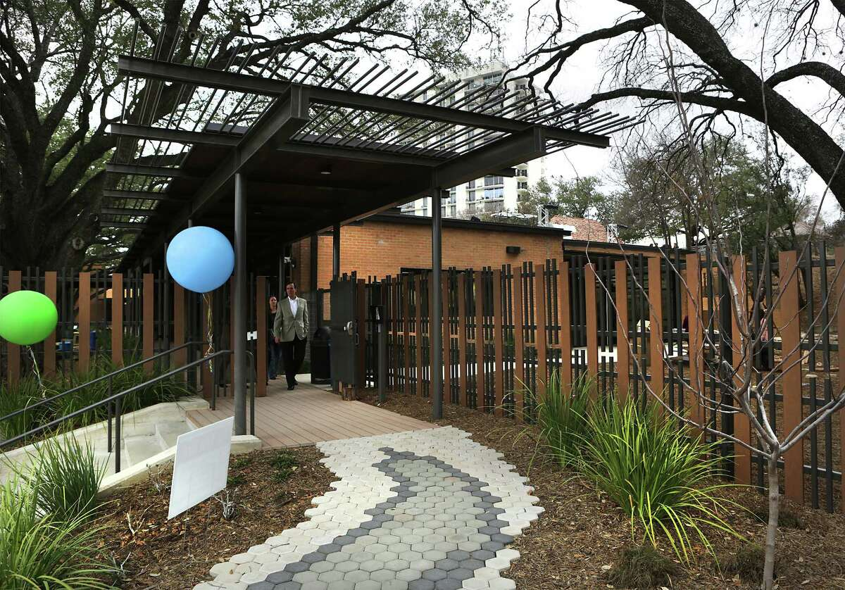 The San Antonio Zoo officially opens the Will Smith Zoo School that fosters an appreciation of animals and plants with a nature-based curriculum, outside activities and an exploration of the zoom, on Wednesday, Jan. 10, 2018.