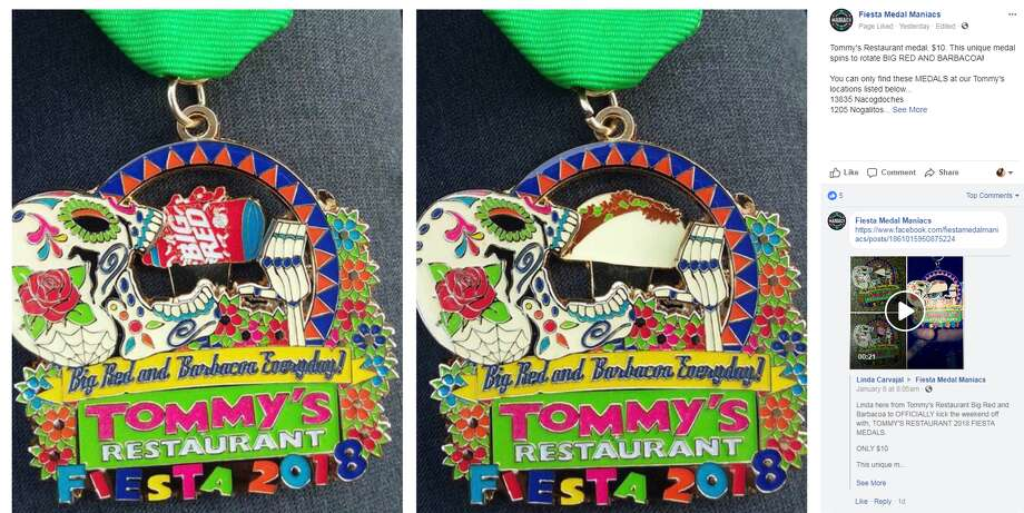 Tommy's Restaurant MedalAvailable at Tommy's Restaurants, $10 Photo: Facebook, Instagram
