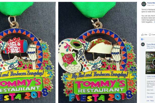 Tommy's Restaurant Medal  Available at Tommy's Restaurants, $10
