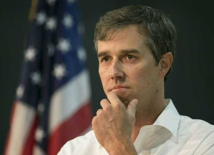 Democratic U.S. Senate hopeful Beto O'Rourke, shown here stumping in Austin Sept. 22, 2017, reversed his position on mandating government service for young Americans (Photo: Jay Janner, Austin American-Statesman).