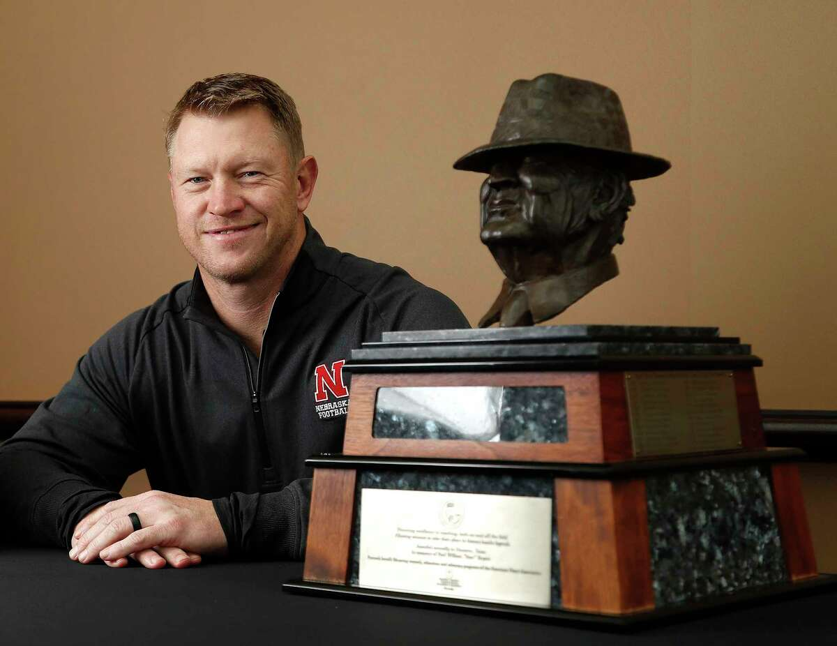 University of Nebraska head coach Scott Frost, formerly with the University of Central Florida, with the Paul